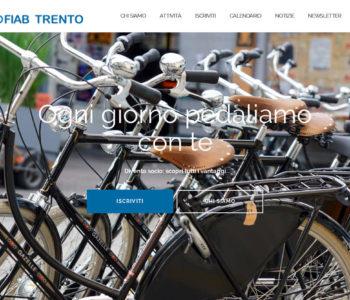 screenshot del sito di FIAB Trento