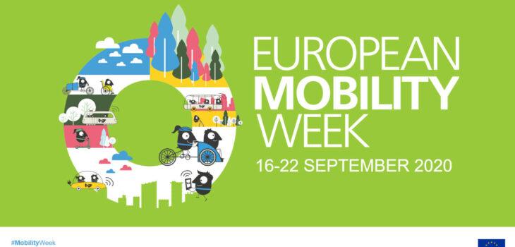 Logo settimana europea della mobilità 2020